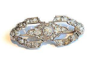 Fashion Jewelry Vintage Broche Art Deco