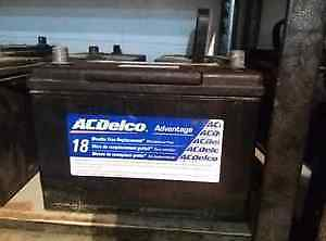 CAR BATTERY IN EXCELLWNT CONDITION