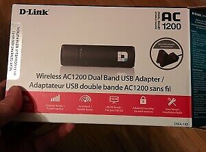 D-Link AC1200 Wireless Dual Band USB Adapter (DWA-182)