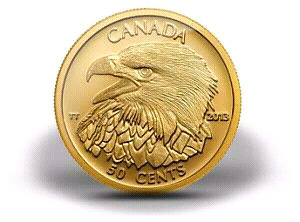 2013 BALD EAGLE GOLD COIN - CANADA