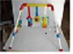 SESAME STREET VINTAGE PLAY GYM