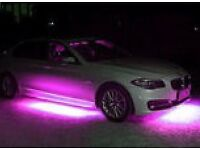 UNUSED UNDER CAR PURPLE legal NEONS with all mounting and wiring BARGAIN