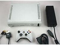 XBOX 360 WITH 7 GAMES