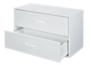 2 Drawer Organizer Stack-A-Shelf / ClosetMaid