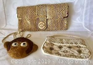 COLLECTION OF 3 VINTAGE PURSES