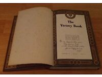 Historical Collectors item, The Victory Book from 1945 £ 15