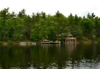 Rustic Muskoka Cottage, Muldrew Lake