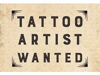 Tattoo Artist Required.