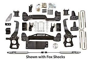 """BDS Suspension 4"""" Suspension Lift Kit System for 2009-2013 Ford"""