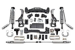Used BDS Ford F150 Fox 6 inch lift kit