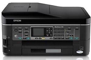 Epson Workforce 545 Print-Copy-Scan-Fax