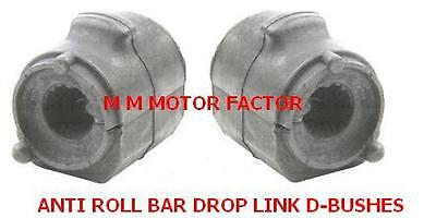 FORD FUSION 02  ALL CARS FRONT ANTI ROLL STABILISER DROP LINK BAR D BUSH X2