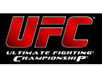 Huge collection of UFC DVDs