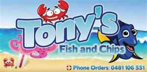Tony's Fish And Chips Seven Hills Blacktown Area Preview