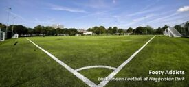 Play football every Thursday @ 9pm in Hackney