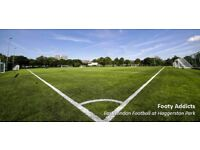 Looking for new player for Sunday casual football at Haggerston park