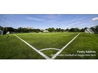 8 a side football - Hackney - Sundays at 5pm