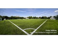 Play 8aside football every Thursday 9pm in Hoxton