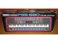 Yamaha Keyboard Portasound PSS-680 Music Station