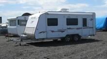 Caravan storage. Cheap! Starting at $21 per week. Secure yard. Braeside Kingston Area Preview