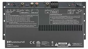 TVA2.1 Digital Two-Channel TV Amplifier with IR Learning and Sub