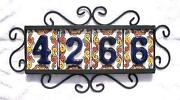 Mexican House Numbers