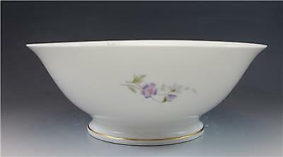 C1890s Elite French Limoges Porcelain Centerbowl w/ Wild Flowers