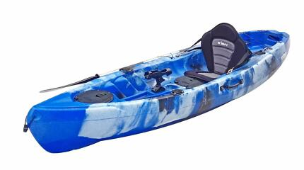 FREE Delivery* Volador Fishing Single Kayak - Backrest and Paddle
