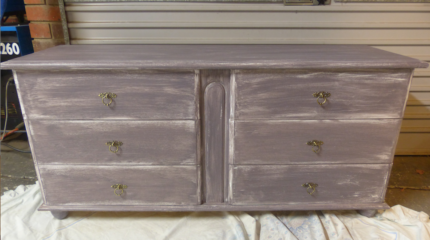 Distressed Dresser U0026 Matching Bedside Tables! Part 76