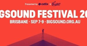 2 x Tickets Bigsound Festival 2016 Curl Curl Manly Area Preview
