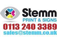 Sales Person: Print & Signage