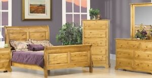 SLEIGH BED SALE,LOTS OF COLOURS AVAIL,100% SOLIDWOOD