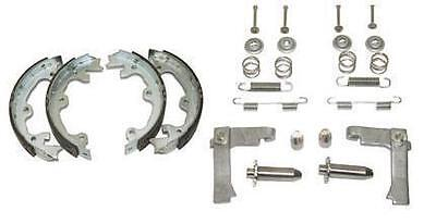 65 - 82 Corvette parking brake shoes + Stainless Steel Hardware DELUXE KIT