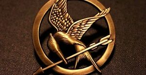 Hunger Games Mockingjay Pin / Pendant or Necklace