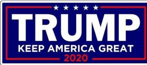 Trump 2020 President Campaign Keep America Great MAGA Decal Bumper Stickers US