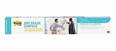 Post-it Dry Erase Surface - 24 X 36 White Film - 1 Pack Def3x2
