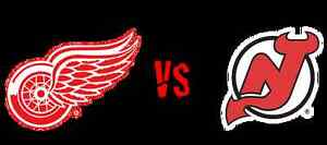 Detroit Red Wings vs New Jersey Devils April 9 2017
