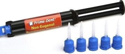 Chemical Cure Non Eugenol Temporary Cement Dental Kit Tempbond Primedent