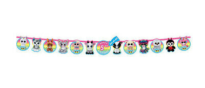 Customized Party Banners (TY BEANIE BOO'S birthday party jumbo LETTER BANNER Customize ADD AN)