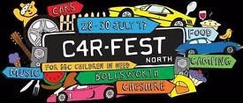 Carfest North x4 weekend camping tickets £163 each ono