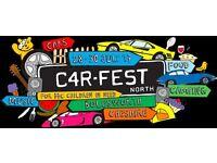 Car Fest - One adult weekend camping ticket Car Fest North
