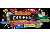 2 CARFEST SOUTH ADULT DAY TICKETS