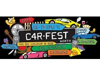 FREE Tickets Car Fest North, 28 - 30 July, 2017 F, S, S Day Tickets