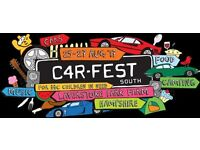 Carfest South Tickets - weekend festival camping - 2 x adult, 1 x child 6-16, 1 x child 0-5