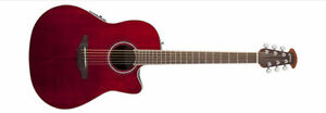 Ovation Celebrity- Ruby Red- Electric Acoustic **New Price!**