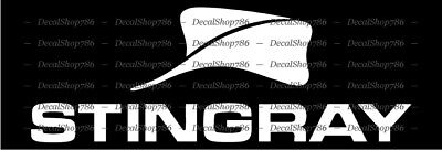 STINGRAY Boats -Outdoor Sports- Car/SUV/Truck Vinyl Die-Cut Peel N' Stick Decals
