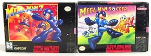 Looking for Mega Man 7 and Mega Man Soccer