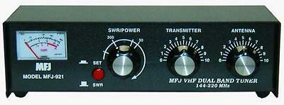 MFJ-921 Manual tuner + SWR: 2m/1.25m, 30/300W. Buy it now for 103.25