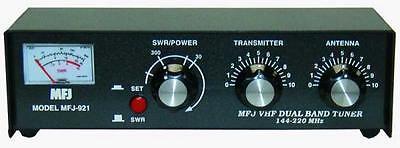 MFJ-921 Manual tuner + SWR: 2m/1.25m, 30/300W