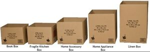 Moving Boxes, Moving Box Kits, And Other Moving  Supplies Kitchener / Waterloo Kitchener Area image 3